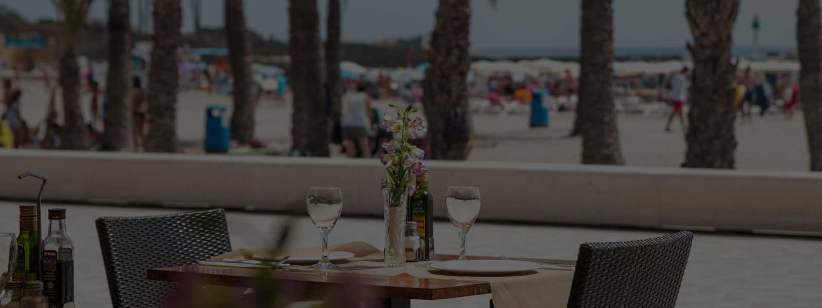 Restaurante Posidonia on El Arenal beach